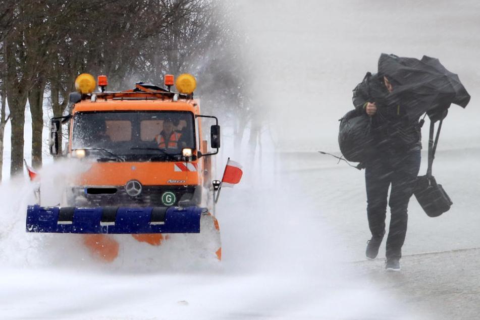 Es bleibt weiterhin nass-kalt in Sachsen. In höheren Lagen wird es auch am Wochenende schneien.