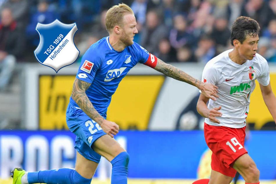 TSG Hoffenheim außer Rand und Band: Die Siegesserie hält auch gegen Augsburg an