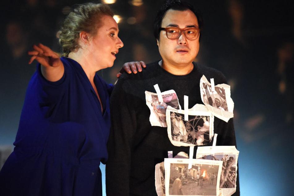Alfred Kim (rechts) eroberte mit seiner kraftvollen Stimme die Bühnen dieser Welt.