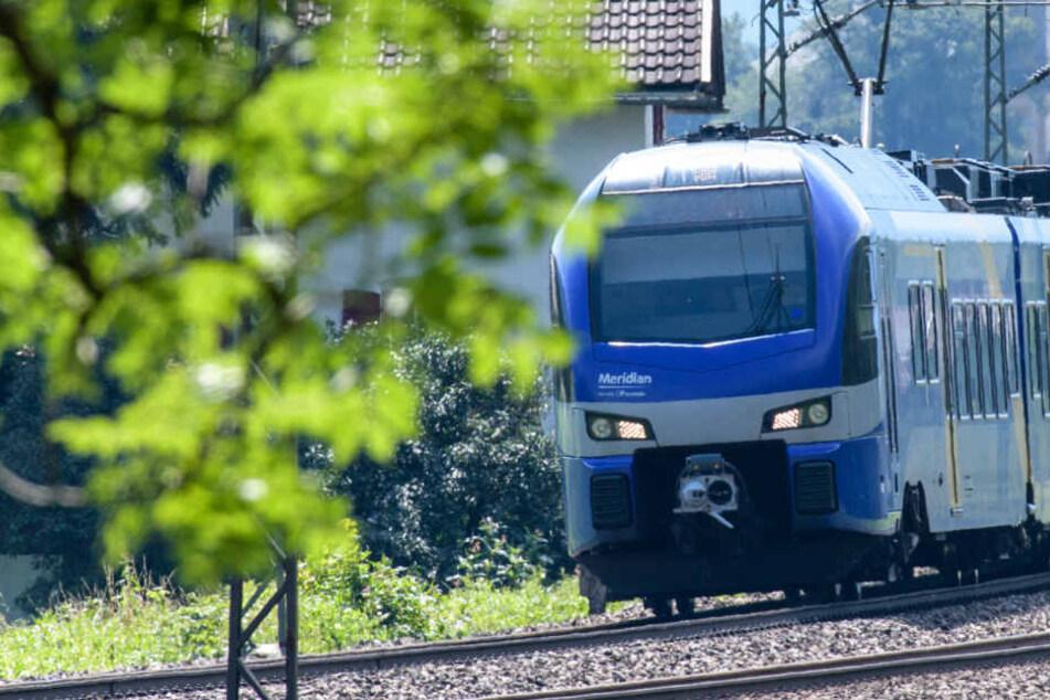 In Bayern wurden zwei Lokführer mit Laserpointern geblendet. (Symbolbild)
