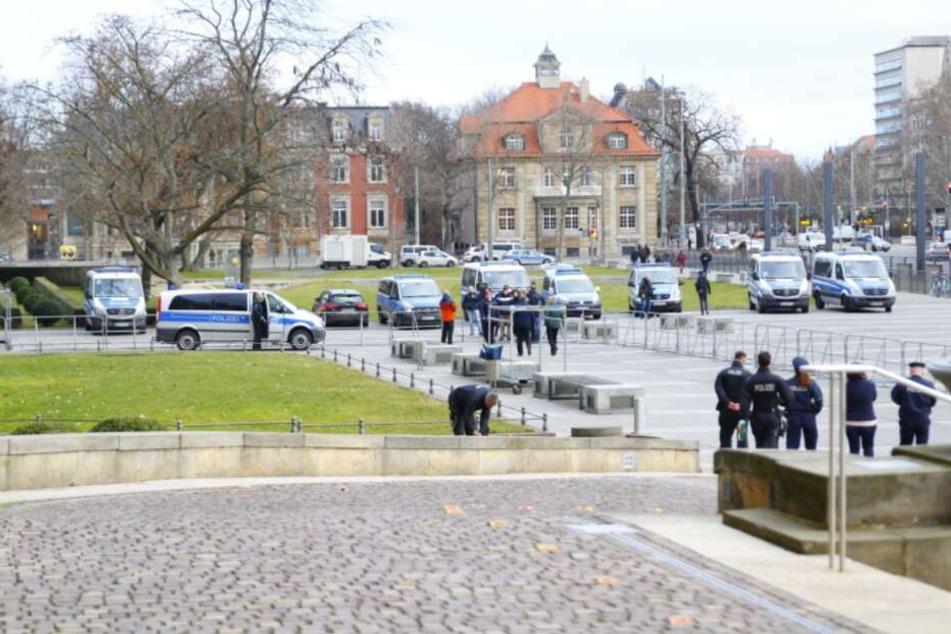 Vor dem Bundesverwaltungsgericht gelten erhöhte Sicherheitsvorkehrungen.