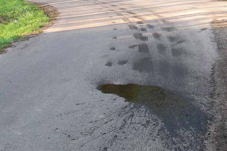 Eine Ölspur führte die Polizei bis zum Täter. (Symbolbild)
