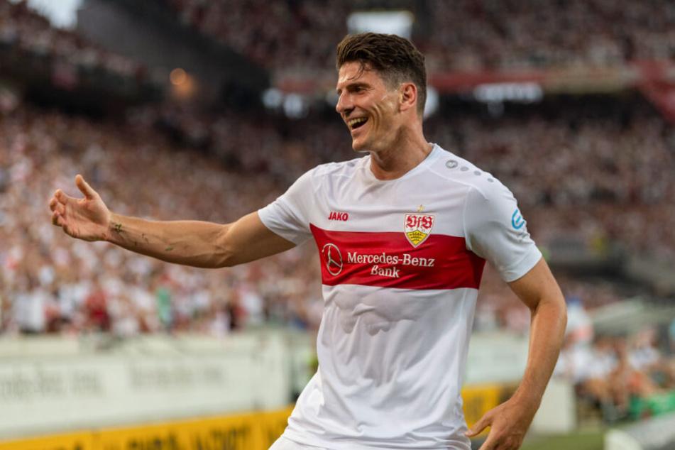 Mario Gomez traf zum zwischenzeitlichen 2:1 gegen den 1. FC Nürnberg. (Archivbild)
