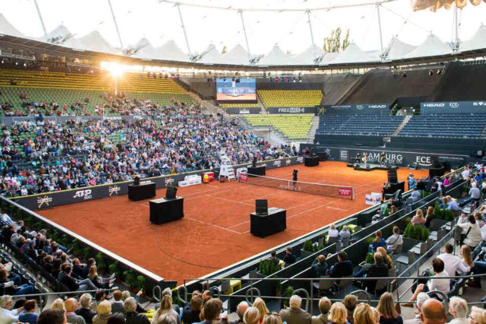 Austragungsort des Tennis-Turniers ist das jüngst umgebaute Stadion am Rothenbaum. (Archivbild)