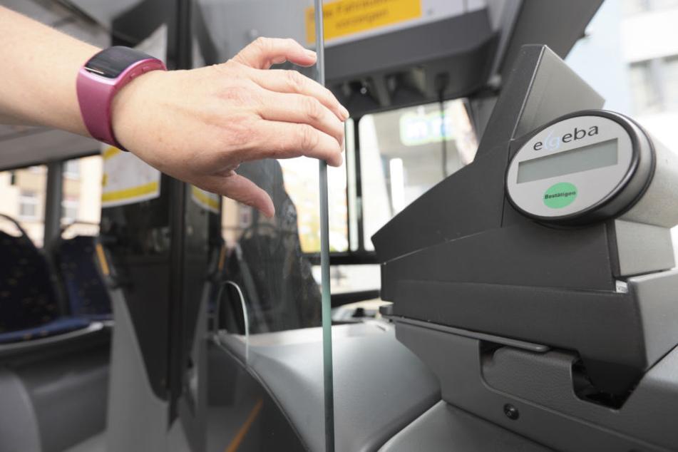 In Plauen fahren die meisten Busse bereits mit vollverglasten Kabinen durch die Stadt.