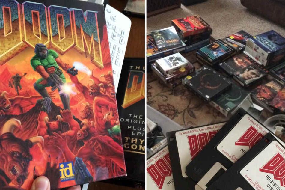 Doom, Wolfenstein und Co.: Spiele-Schatz bei Kriegsveteran entdeckt