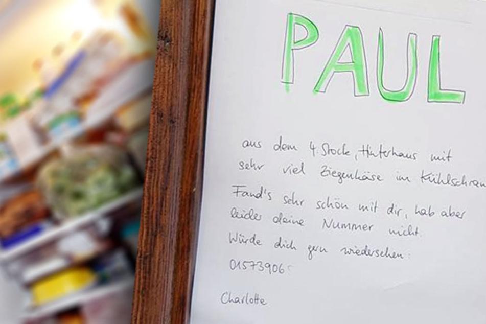 Mit diesem Gesuch wird sich Paul mit Sicherheit melden.