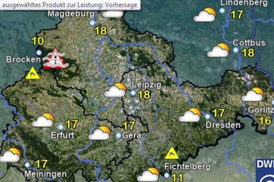 Die vorausgesagten Temperaturen für den Mittag in Sachsen rufen schon beinahe nach Heiß-Getränken.