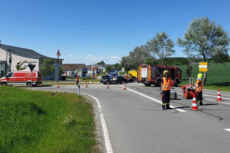 Der Unfall passierte auf der B95 am Abzweig nach Buchholz.