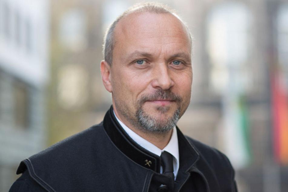 Sachsens Oberberghauptmann Bernhard Cramer (52): Schäden durch Altbergbau gibt es im Freistaat immer wieder.