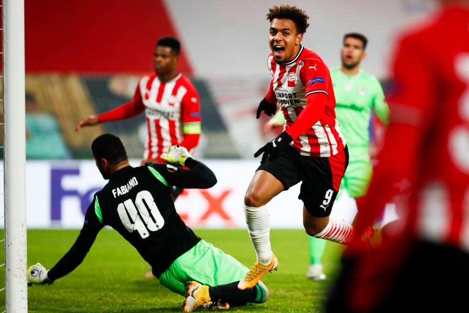 Donyell Malen (22, M.) hat sich in den vergangenen vier Jahren prächtig bei der PSV Eindhoven entwickelt.