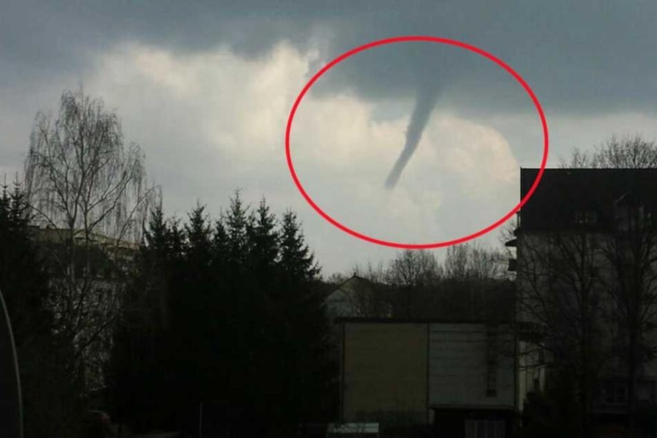 Tornado-Alarm! Was fegt hier über Chemnitz hinweg?
