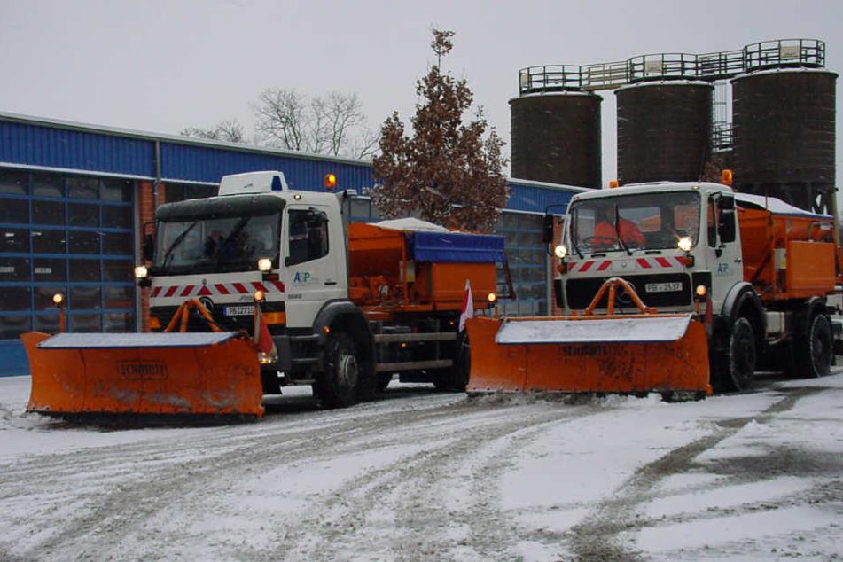 Stadt wappnet sich für den Winter: Aber auch Bürger haben Pflichten
