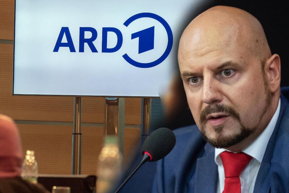 """""""Tendenziöser GEZ-Dreck"""": AfD-Krawallo Räpple keilt heftig gegen """"Staatsmedien"""""""