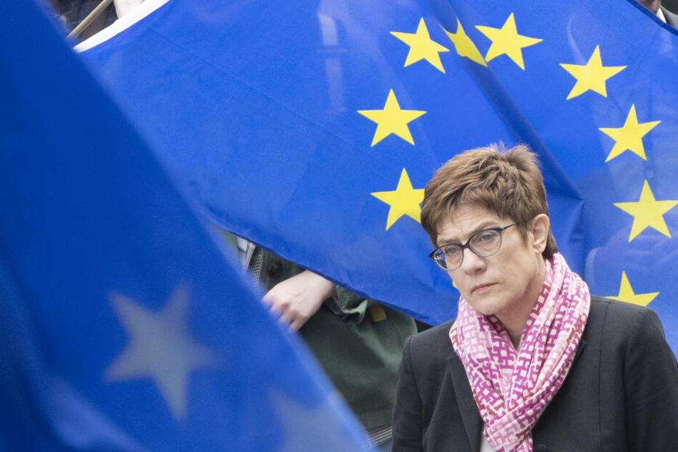 CDU-Chefin Annegret Kamp-Karrenbauer.