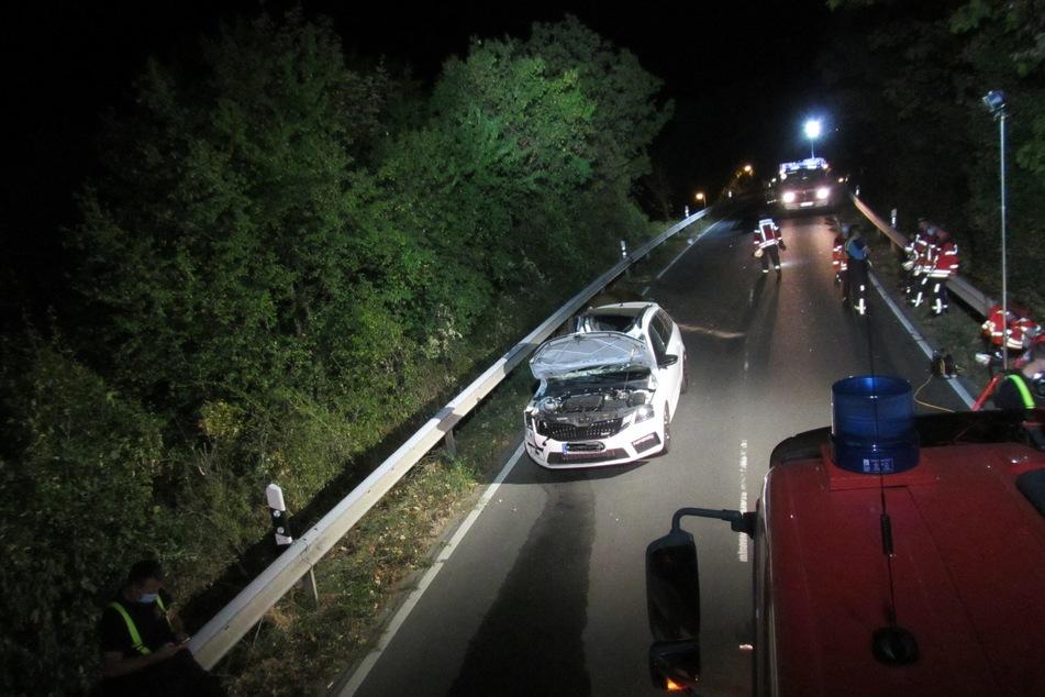 Der Unfall ereignete sich am Dienstagabend auf der Landstraße 419.