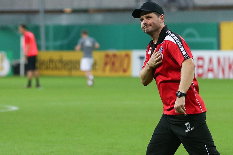 Steffen Baumgart (45) arbeitete als Co-Trainer und kurzzeitig als Interimstrainer für Hansa Rostock.