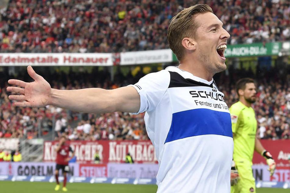 In Nürnberg gelang dem 25-Jährigen das zweite seiner insgesamt vier Tore.