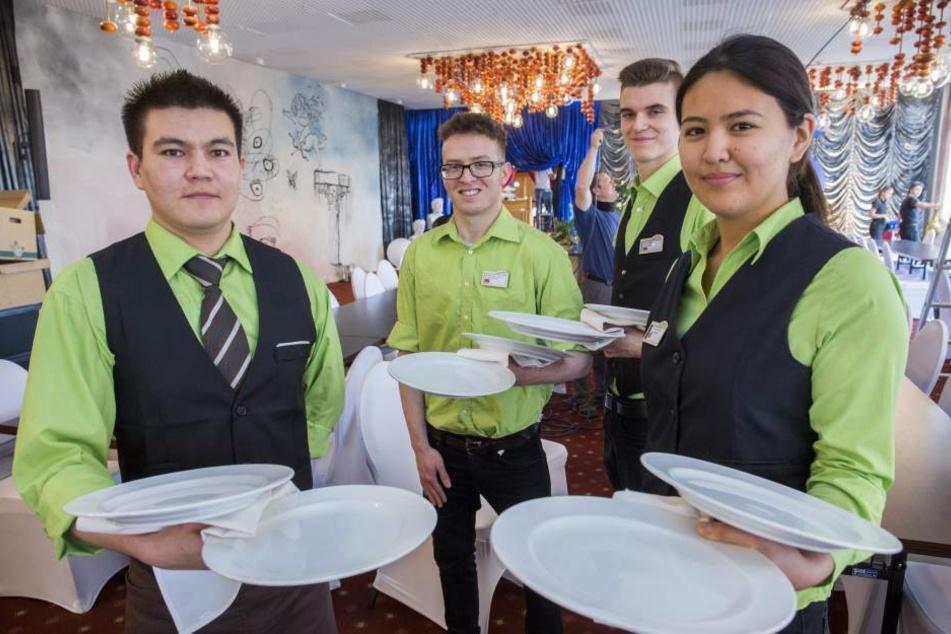 Im Ahorn-Hotel in Oberwiesenthal sind Auszubildende unter anderem aus Kirgisistan und Marokko. (Archivbild)