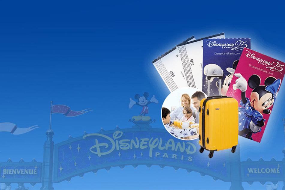 Gewinnspiel: Disney-Land Paris Tickets zu gewinnen