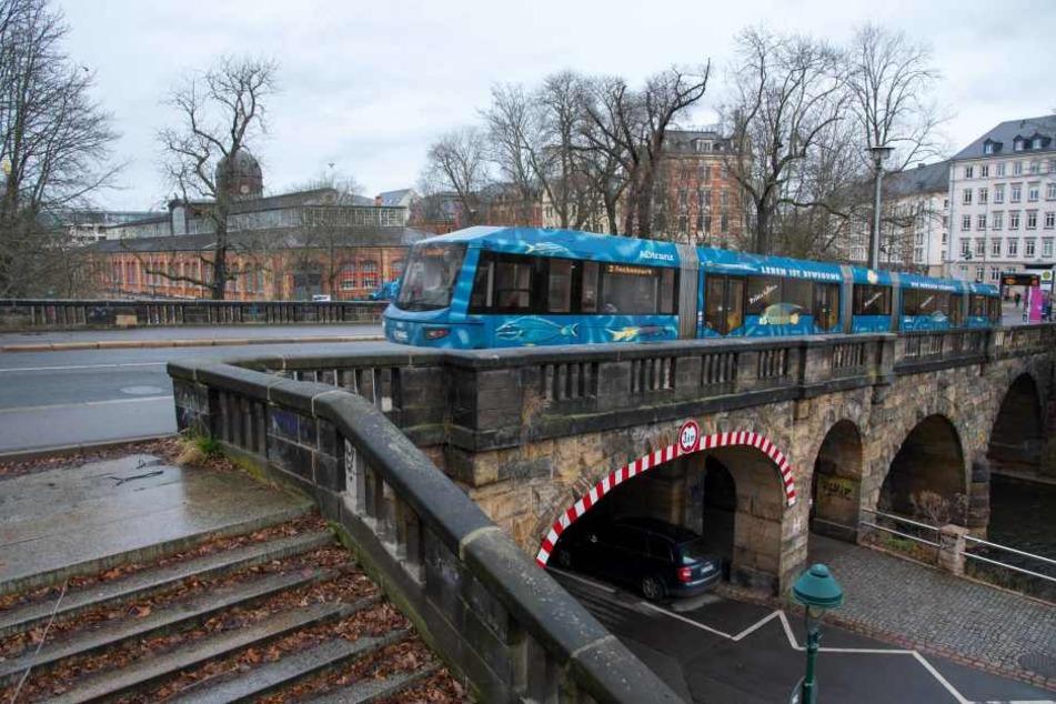 Bald wieder mit der Straßenbahn über den Kaßberg?