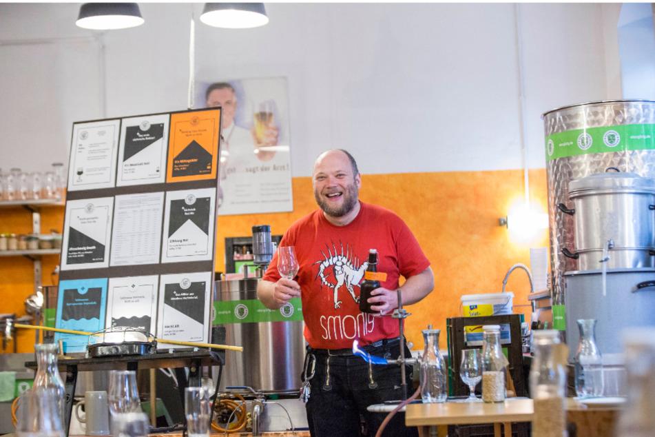 Vorträge, Essen und Freibier - in der Hausbrauerei Schwingenheuer kommen Bierliebhaber voll auf ihre Kosten.