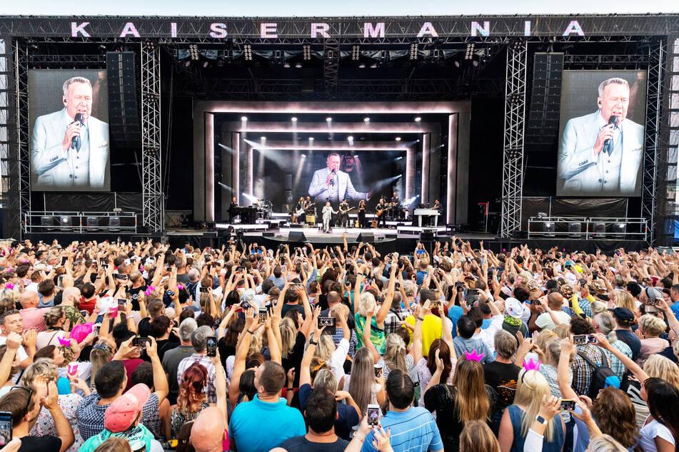 Dass Roland Kaiser alljährlich Zehntausende Fans bei der Kaisermania begeistert, ist auch seiner transplantierten Lunge zu verdanken.
