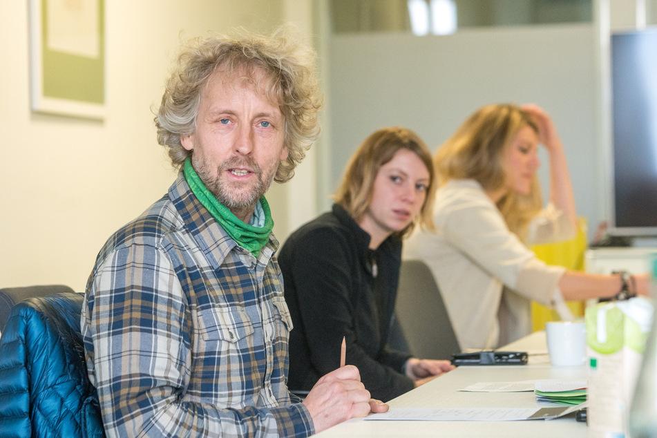 Torsten Schulze (50, Grüne) setzt auf Nachhaltigkeit und Qualität.