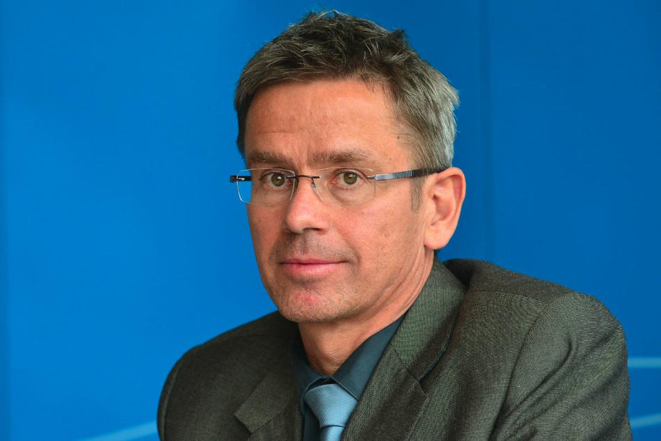 Der Potsdamer Klimaforscher Stefan Rahmstorf (60) erklärt, wieso Kältewellen, wie derzeit in Europa, im Zuge des Klimawandels häufiger werden können. (Archivfoto)