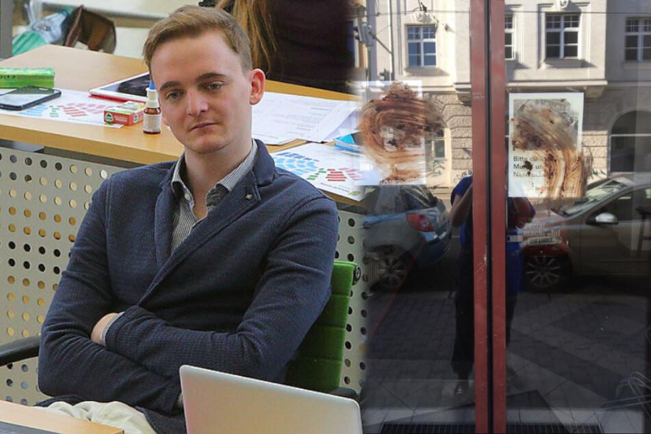 Fäkalien-Anschlag auf Büro von Linke-Politiker in Leipzig