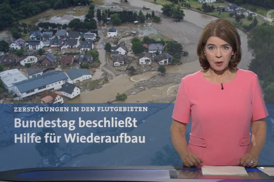 """Die AfD ging gegen eine """"Tagesschau""""-Moderation von Susanne Daubner (59) vor."""