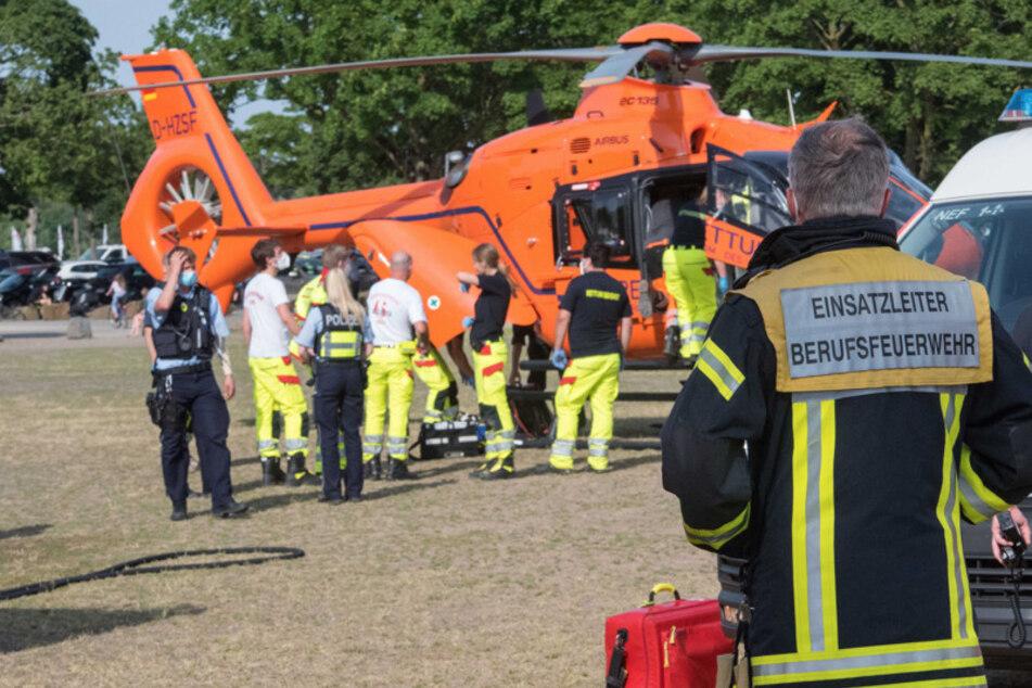 Das Kind musste reanimiert werden und kam per Hubschrauber in eine Uniklinik.