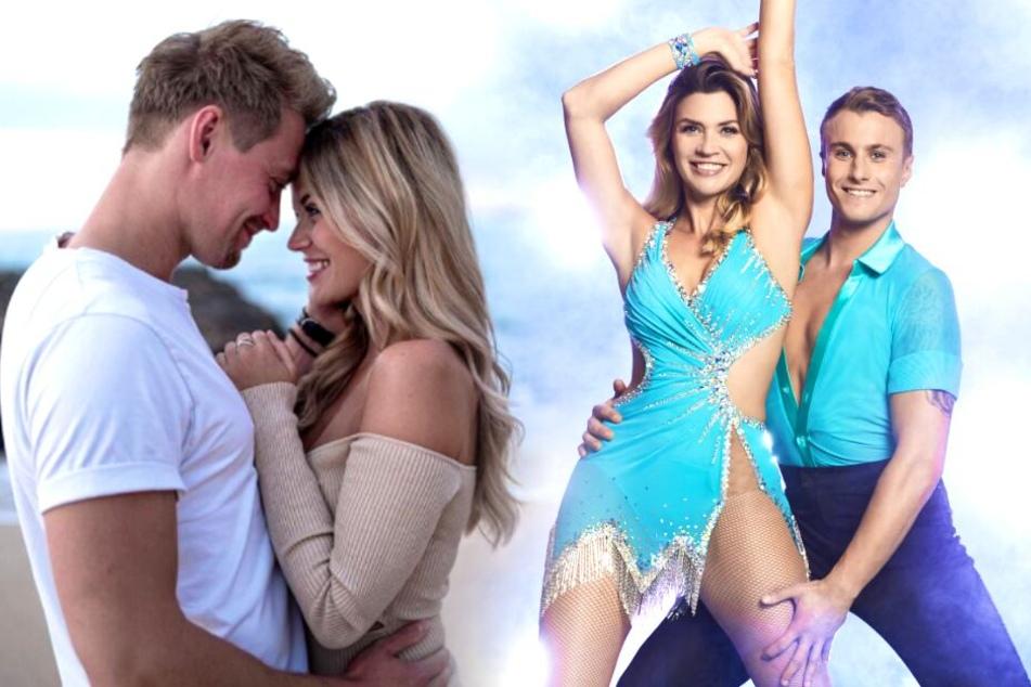 """Heiße Momente bei """"Dancing on Ice"""": Ist Nadine Kleins Freund eifersüchtig?"""