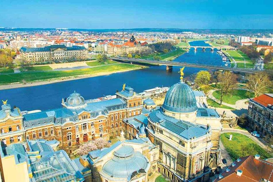 Die Dresdner sind mit ihrer Stadt zufrieden.