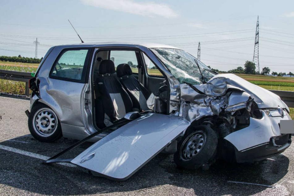 Der VW Lupo des 46-Jährigen.