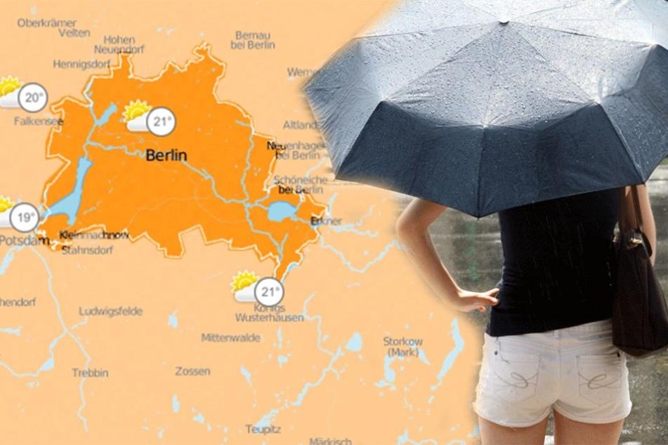 In den kommenden Tagen Regenschirm nicht vergessen.