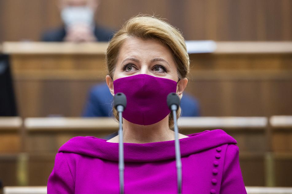 Zuzana Caputova, Staatspräsidentin der Slowakei.