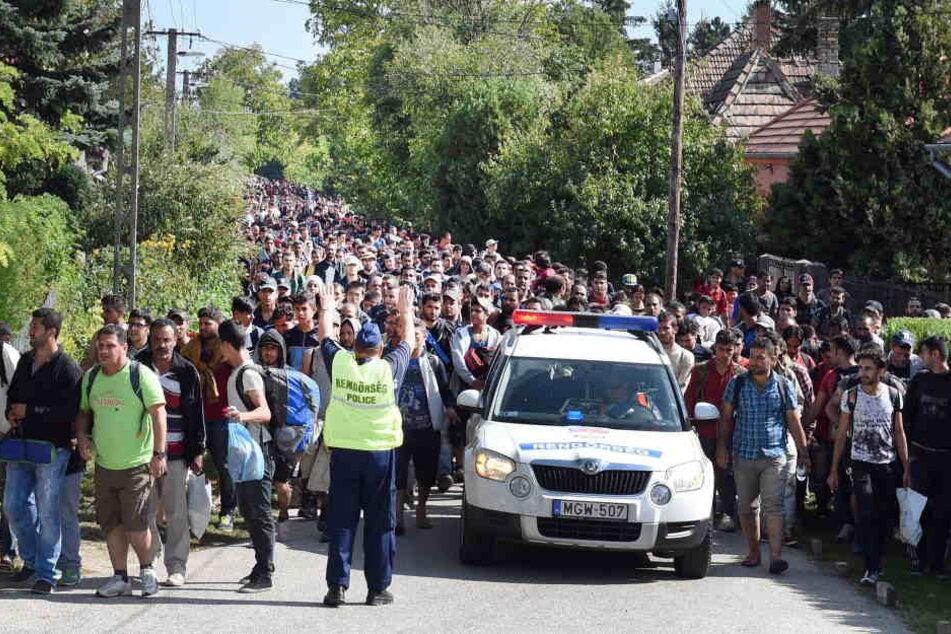 Auch nach der Flucht mussten die Asylbewerber unfassbare Gewalt ertragen.