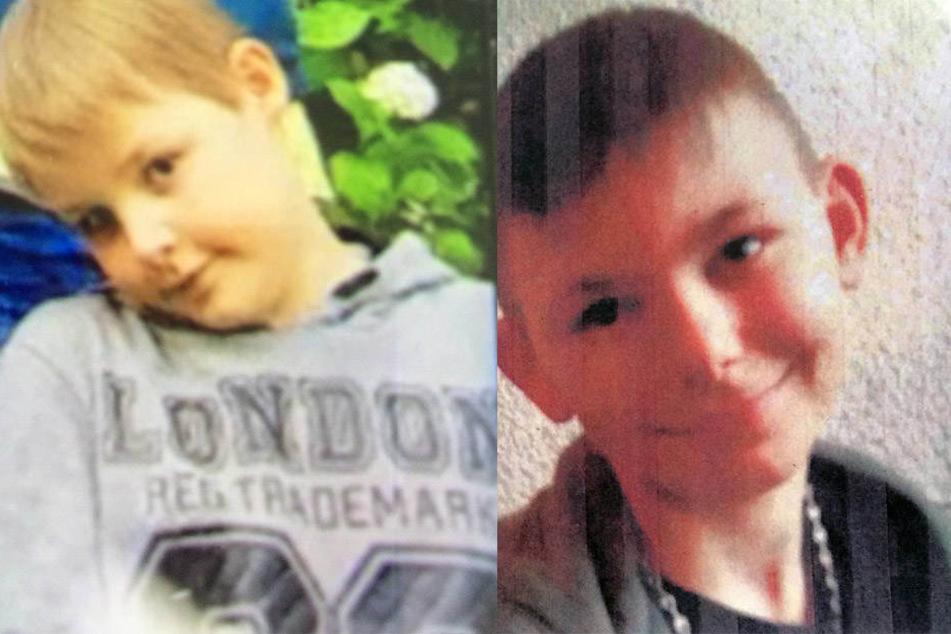 Noel Martinus Schlichten (9, l.) und Danny Schmeer (11) werden seit dem 4. Juli vermisst.