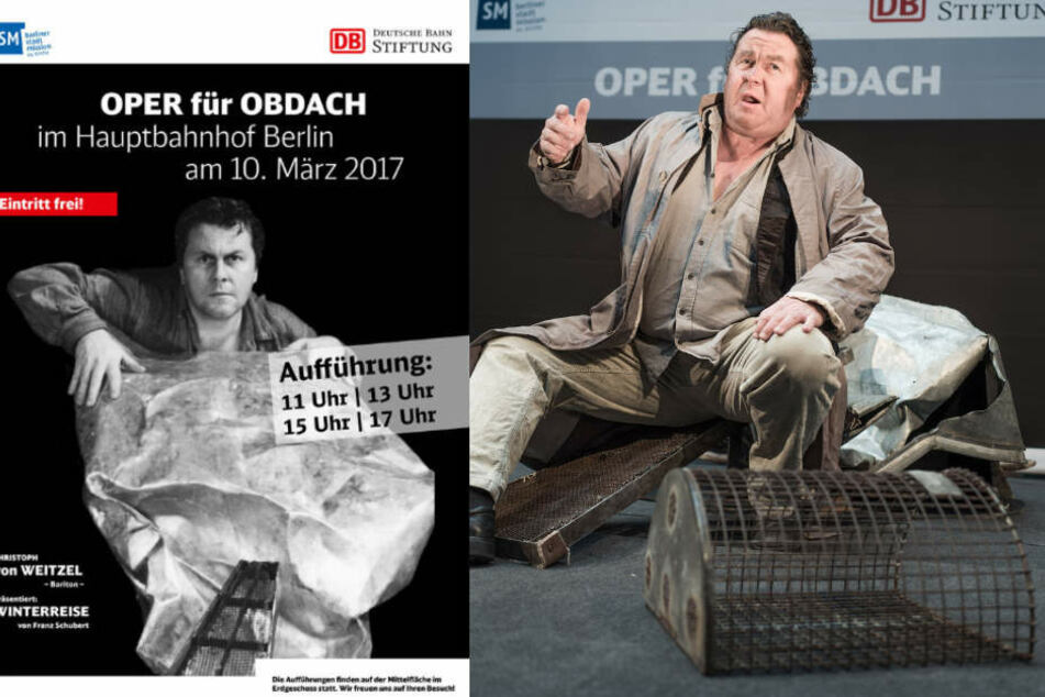 Oper für Obdach in Berlin.