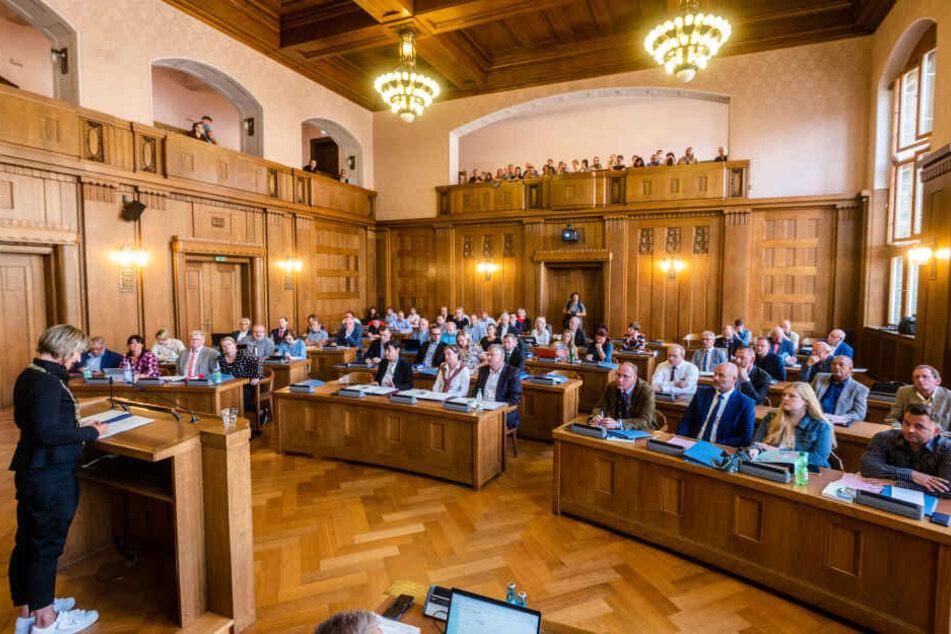 Am Mittwoch trat der neu gewählte Chemnitzer Stadtrat zu seiner ersten Sitzung zusammen.