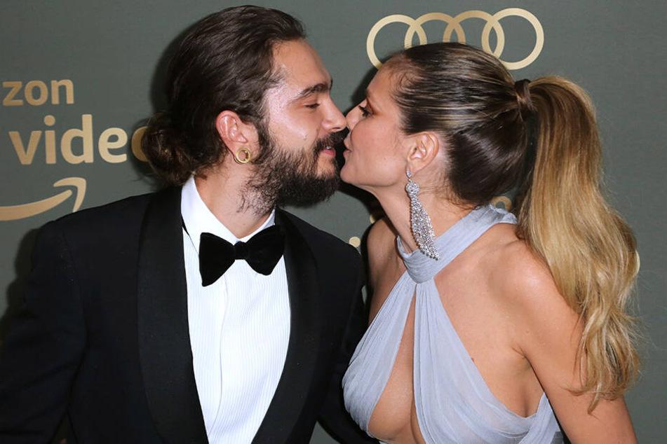 Verlobt sind sie schon, aber werden sie auch Eltern? Tom Kaulitz und Heidi Klum sind schwer verliebt.