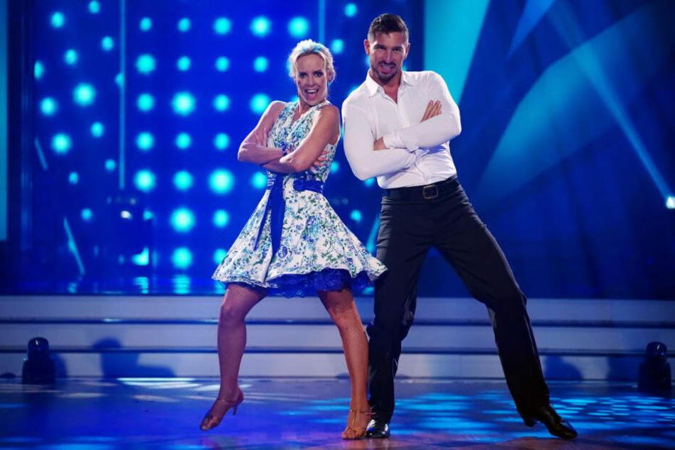 Isabel Edvardsson und Benjamin Piwko bei einem ihrer Auftritte