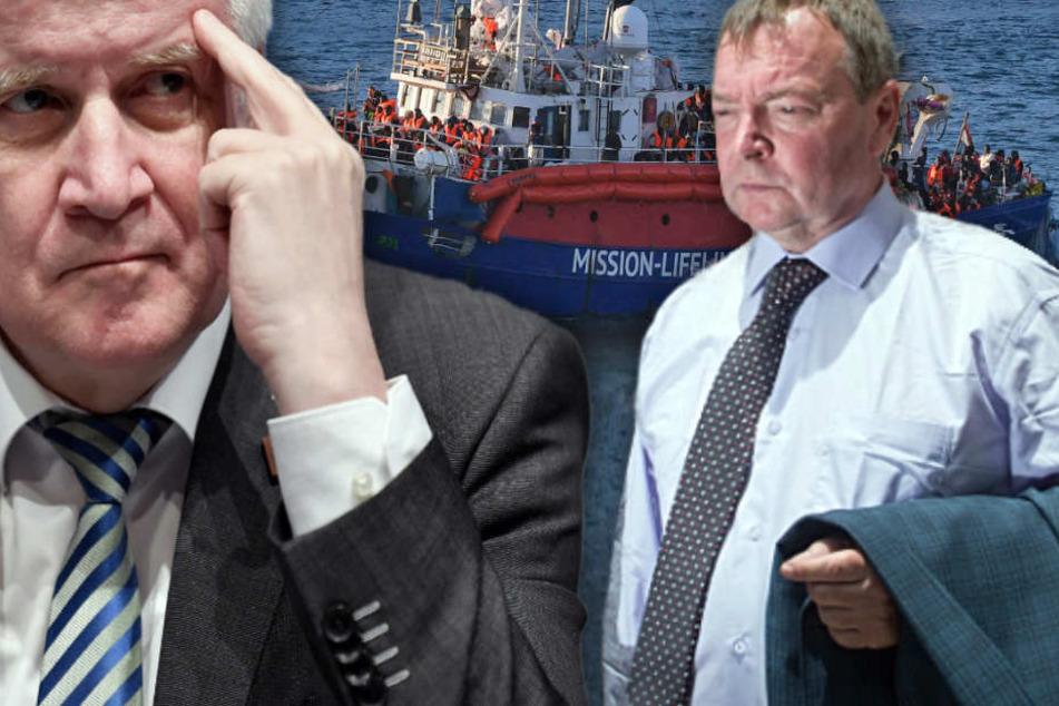 """""""Lifeline""""-Kapitän Reisch klagt an: """"Seehofer ist ein Täter, er gehört vor Gericht"""""""