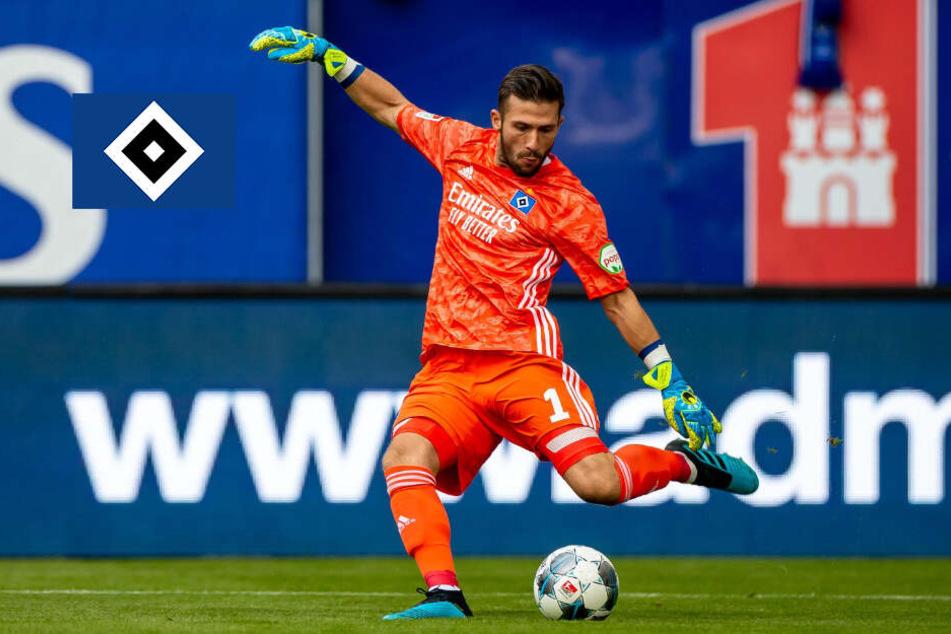 HSV-Keeper Heuer Fernandes zeigt starke Reaktion auf harsche Kritik