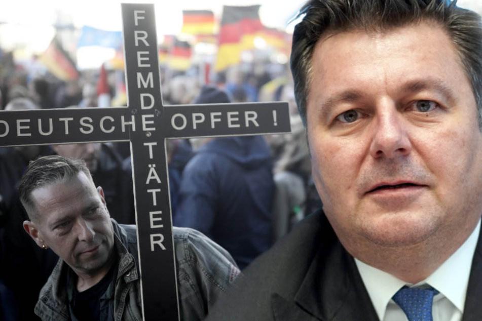 """Das Bündnis """"Wir für Deutschland"""" darf nun doch durch Berlin ziehen."""