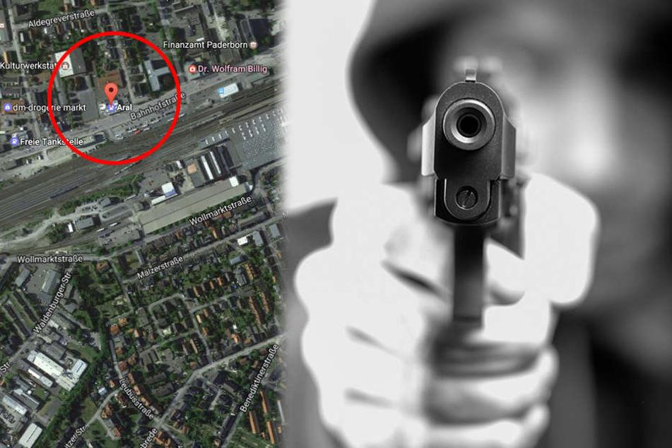 Die Täter drohten dem Kassierer (34) mit einer Schusswaffe!