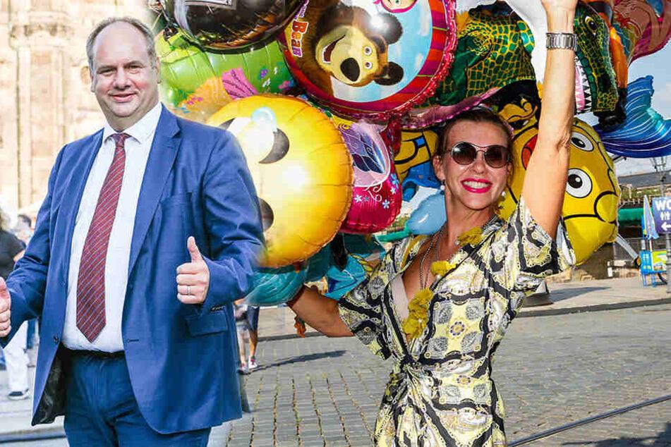 Dresdner Stadtfest ist eröffnet! OB Hilbert gab das Startsignal