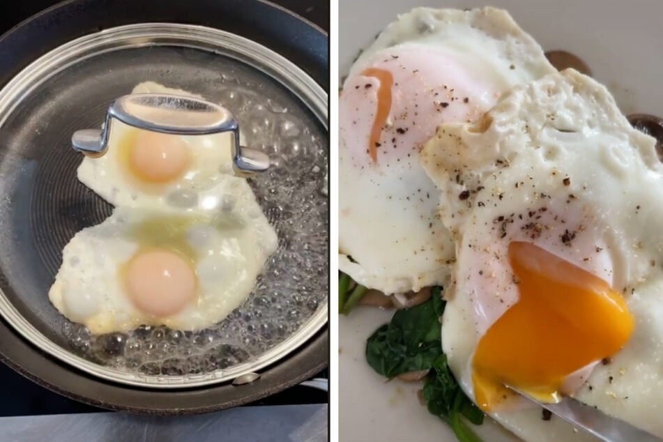 This eggcellent life hack makes the perfect runny eggs