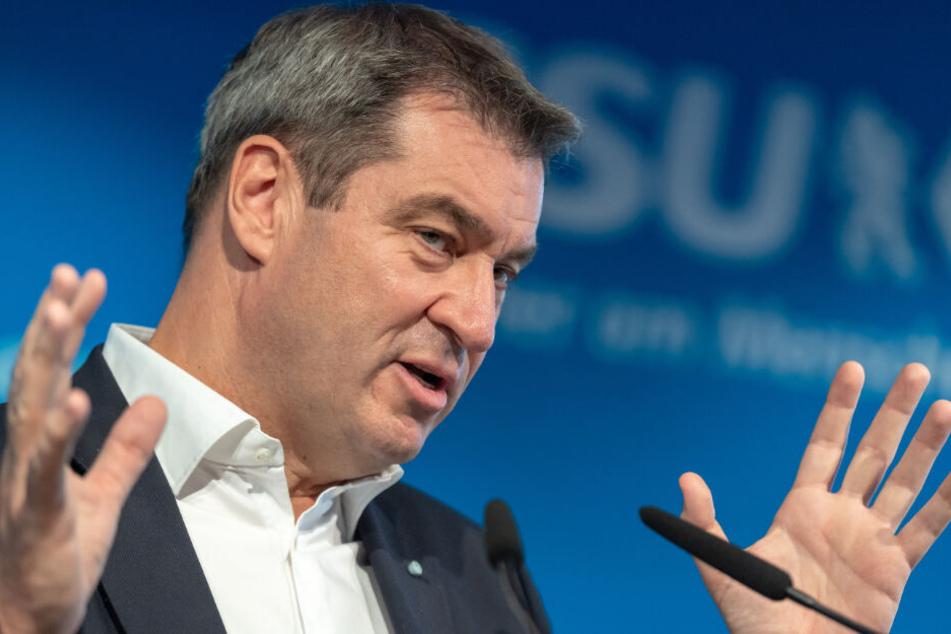Markus Söder hat eine klare Vorstellung von der Rolle Deutschlands.